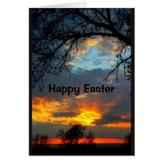 Beautiful Easter From Sunrise To Sunset Card