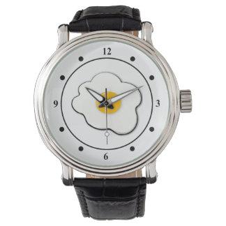 Beautiful egg wristwatch