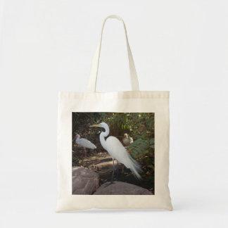 """Beautiful Egret"" Bag"