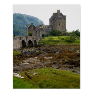 Beautiful Eileen Donan Castle in Western Dornie 2 Poster