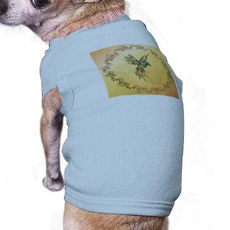 Beautiful,  elegant bird doggie tshirt