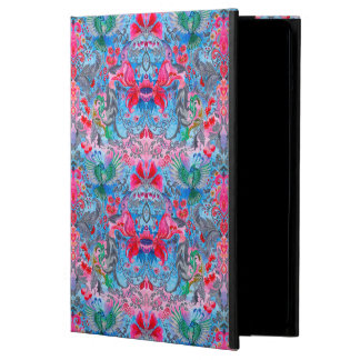 Beautiful elegant botanical vintage lux pattern cover for iPad air