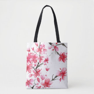 Beautiful & Elegant Cherry Blossom Tote Bag