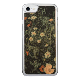 Beautiful elegant floral design carved iPhone 7 case