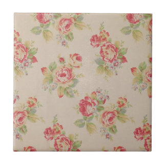 Beautiful elegant girly vintage floral pattern tiles