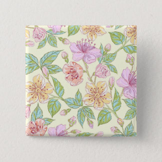 Beautiful & Elegant Hand Painted | Pin Button