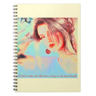 Beautiful Elegant Lady Notebooks