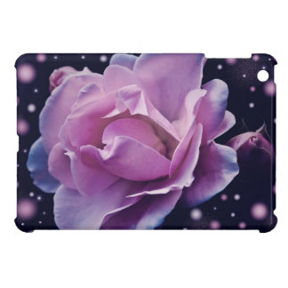 beautiful elegant stylish flower | purple rose iPad mini cases