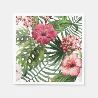 Beautiful & Elegant Tropical Floral | Napkin