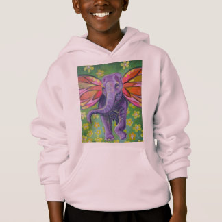 Beautiful elephant image hoodie