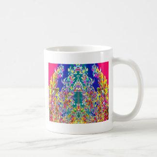 Beautiful EMBLEM of joy peace happiness prosperity Coffee Mug
