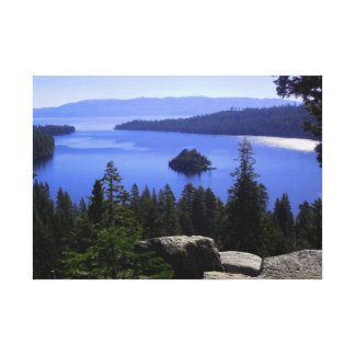 Beautiful Emerald Bay Canvas Print