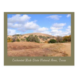 Beautiful Enchanted Rock State Natural Area Postcard
