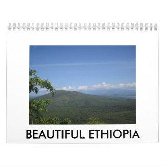 Beautiful Ethiopia Wall Calendar