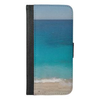 Beautiful Exotic Beach iPhone 6/6s Plus Wallet Case