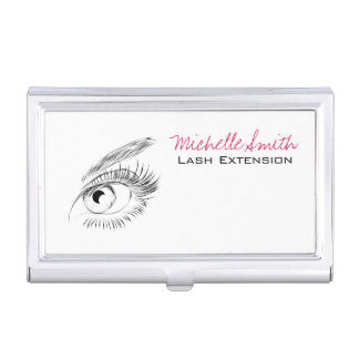 Beautiful eyes Long lashes Lash Extension Business Card Holder