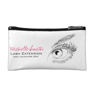 Beautiful eyes Long lashes Lash Extension Cosmetic Bag