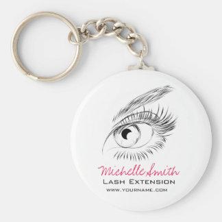Beautiful eyes Long lashes Lash Extension Keychain