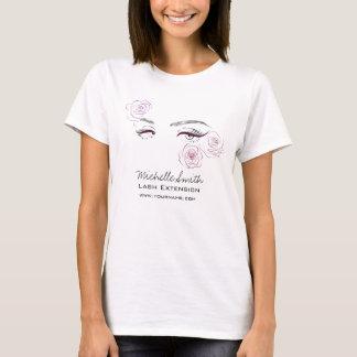 Beautiful eyes Long lashes Roses Lash Extension T-Shirt