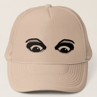 BEAUTIFUL EYES ON YOUR HAT