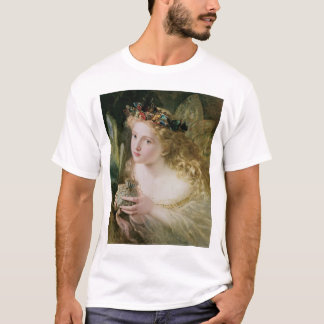 Beautiful Fairy Butterflies, Vintage Victorian Art T-Shirt