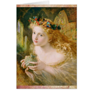 Beautiful Fairy Dreams Vintage Birthday Card