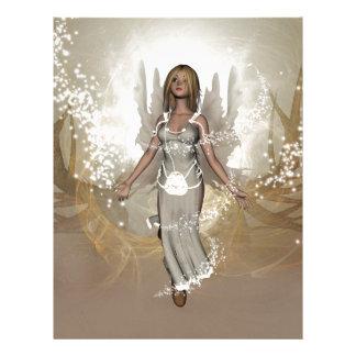 Beautiful fairy custom letterhead