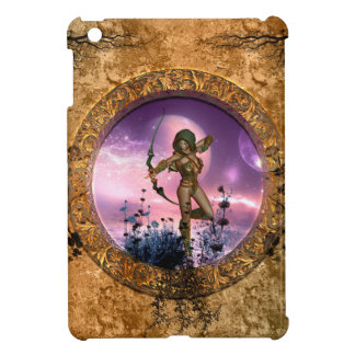 Beautiful fairy with arrow and bow case for the iPad mini