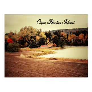 Beautiful Fall in Cape Breton Postcard