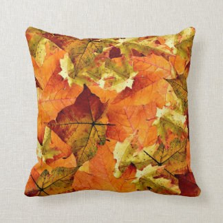 Beautiful Fall Leaves Pillow! Throw Pillow