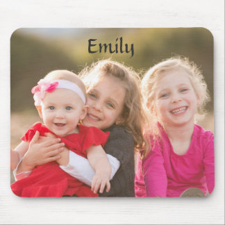 Beautiful Family Portrait Mouse Pad