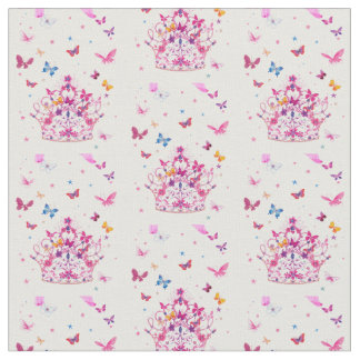 Beautiful Fantastic Feminine Little butterflies Fabric