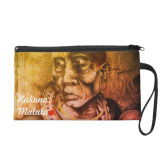 Beautiful Fantastic Maasai Hakuna Matata designs Wristlet