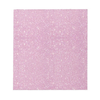 Beautiful fashionable soft purple glitter shinning notepad