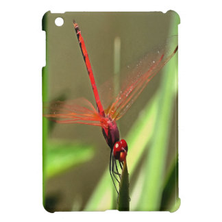 Beautiful Firecracker Dragonfly Cover For The iPad Mini