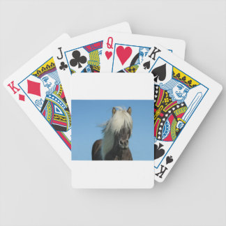 BEAUTIFUL FJORD PONY HORSE STALLION BICYCLE PLAYING CARDS