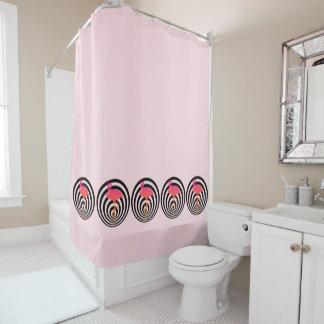 Beautiful flamingo in circles