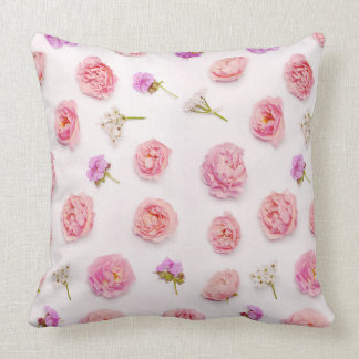 Beautiful floral arrangement throw pillow