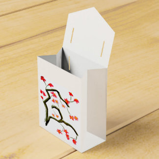 Beautiful Floral Blossom on a Favor Box