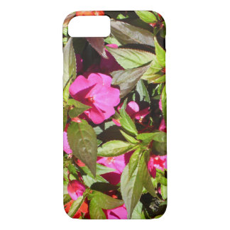 Beautiful floral botanical tropical pink flowers Case-Mate iPhone case