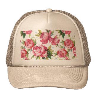 Beautiful Floral Bouquet  Pink Flowers Patterns Trucker Hat