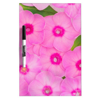 beautiful floral decoration dry erase board