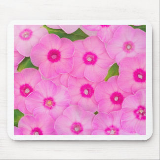 beautiful floral decoration mouse pad