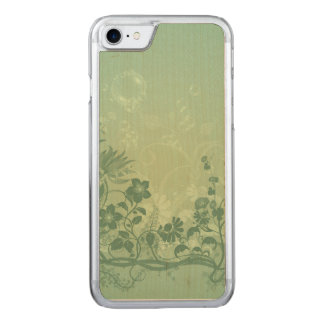 Beautiful floral elements carved iPhone 8/7 case