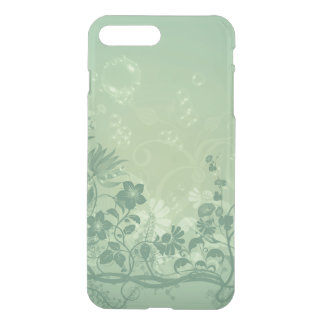 Beautiful floral elements in soft colors iPhone 7 plus case