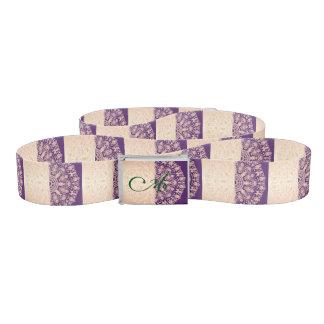 Beautiful,floral,gold,pink,purple,antique,vintage, Belt