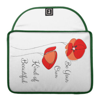 Beautiful Floral Laptop Sleeve Sleeve For MacBook Pro