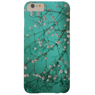 Beautiful Floral on Teal iPhone 6 Plus Case