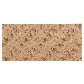 Beautiful Floral Pattern Girly Wood USB 3.0 Flash Drive