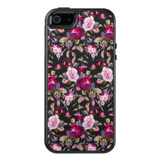 Beautiful floral pattern iPhone 5/5s SE case